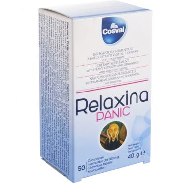 Naturalny preparat likwidujący napięcie i stres – RELAXINA PANIC 50 TABLETEK